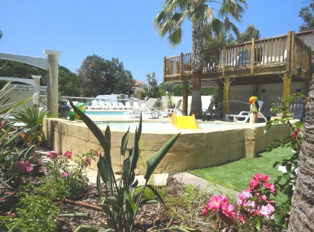 Tarifs des emplacements de camping camping les acacias for Camping piscine var
