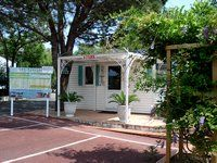 The reception - Camping Var Les Acacias Fréjus - Provence - French Riviera